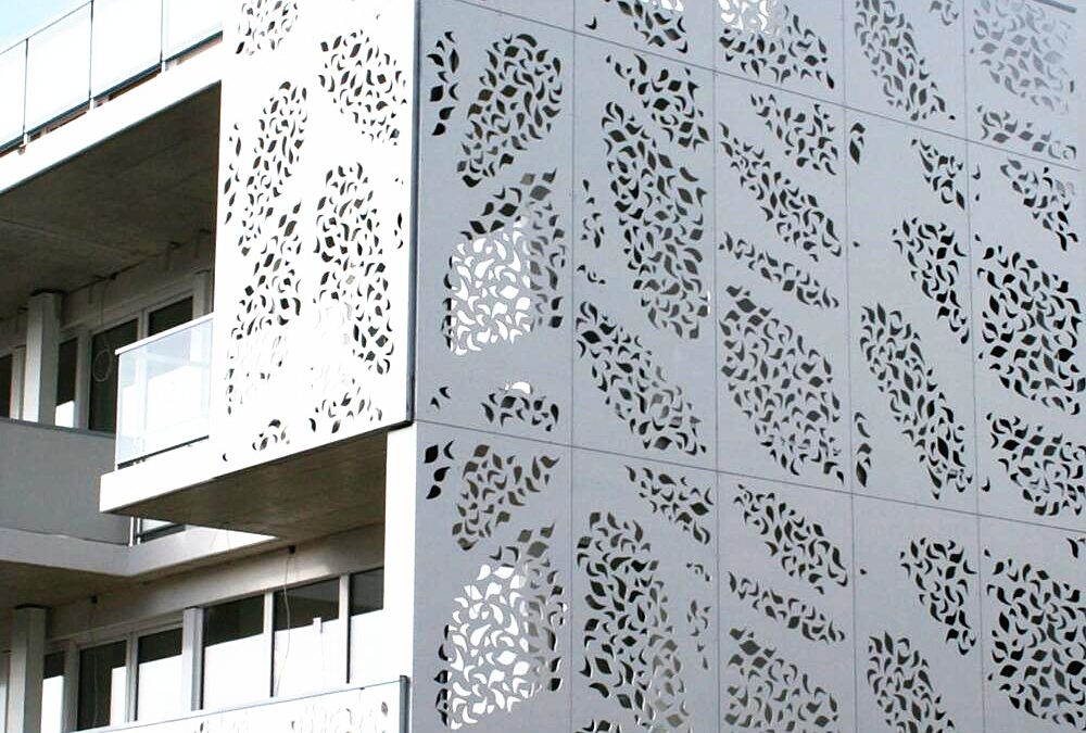 Aodeli expands product range with new solid aluminium perforated and decorative panels
