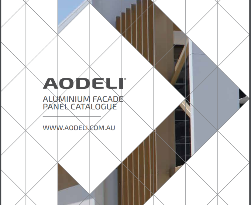 Aodeli's new catalogue features existing and new façade cladding solutions