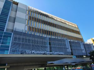 Cairns Hospital safely reclad in Aodeli SAP panels